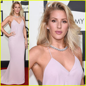 Ellie Goulding Stuns at Grammys 2016!