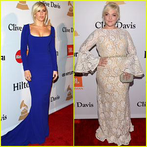 Ellie Goulding Glams Up for Pre-Grammys Gala with Elle King!