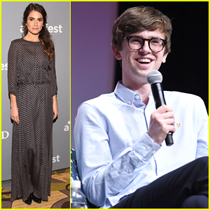 Nikki Reed & Freddie Highmore Hit Atlanta for aTVfest 2016