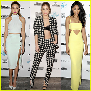 Gigi Hadid & Barbara Palvin Stun at the Sports Illustrated Boat Cruise!
