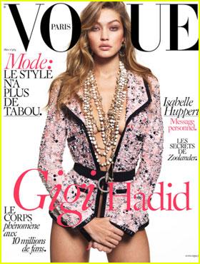 Gigi Hadid Stuns on 'Vogue Paris' March 2016 Cover