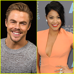 Derek Hough Picks His Dream DWTS Partner - Gina Rodriguez!