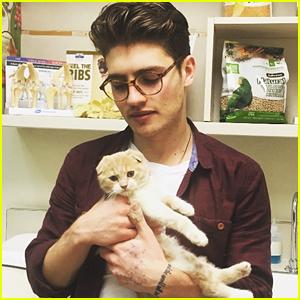 Bella Thorne & Gregg Sulkin Become Pet Parents To Kitten Lola