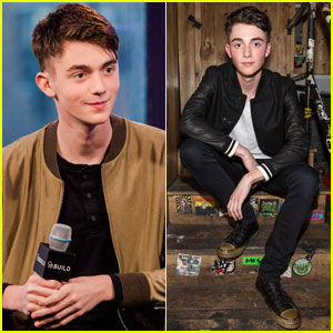 Greyson Chance Promotes His New Single 'Hit & Run' in the Big Apple