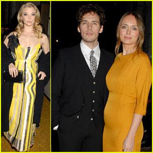 Natalie Dormer & Sam Claflin Have 'Hunger Games' Reunion at BAFTA Event