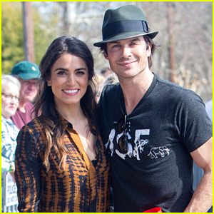 Nikki Reed & Ian Somerhalder Kiss Dogs for a Charitable Valentine's Day!