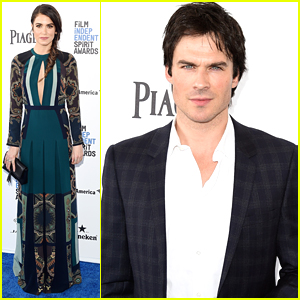 Ian Somerhalder & Nikki Reed Hit Up Independent Spirit Awards 2016