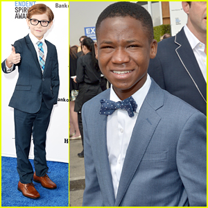 Jacob Tremblay & Abraham Attah Were 'Attacked' by a Raptor Before Independent Spirit Awards 2016