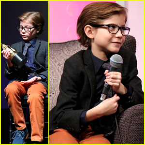 Jacob Tremblay Wears Glasses For Santa Barbara International Film Festival