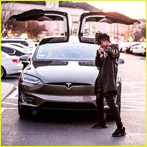 Jaden Smith Buys First Car So New it Isn't Released Yet