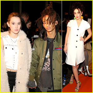 Jaden Smith & Sarah Snyder Continue Hitting Up NYFW 2016!