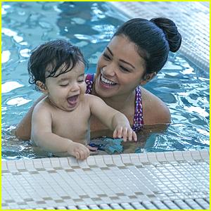 Jane & Rafael Take Mateo To His Baby Swim Class on 'Jane The Virgin' Tonight