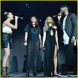Jason Derulo Performs 'Secret Love Song' With Little Mix at O2 Concert - Watch Now!
