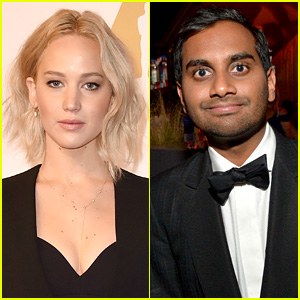 Jennifer Lawrence Dined with Aziz Ansari for Friendly Valentine's Day Dinner!