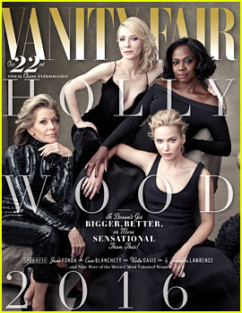 Jennifer Lawrence & Saoirse Ronan Take on Vanity Fair's Hollywood Issue!