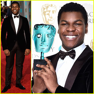 Star Wars' John Boyega Wins the Fan Vote at BAFTAs 2016!