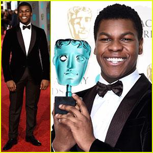Star Wars' John Boyega Wins the Fan Vote at BAFTAs 2016!