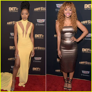 Keke Palmer & Kiersey Clemons Stun at ABFF Awards 2016