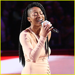 Keke Palmer Sings National Anthem at Clippers Game - Watch Her Performance Now!