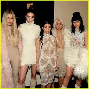 Kendall & Kylie Jenner Join Kardashian Sisters at Yeezy Season 3 Show!