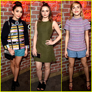Rowan Blanchard Meets Up with 'Angel' Odeya Rush at I Love Coco Event