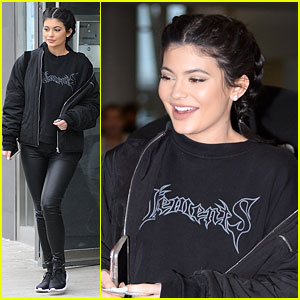 Kylie Jenner Wears Adidas Shoes Just Hours After Puma Deal Announcement
