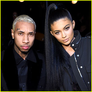 Kylie Jenner Sits Front Row With Tyga at Alexander Wang NYFW 2016 Show