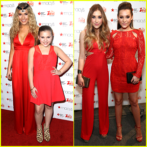 Lennon & Maisy Get Support From Maddie & Tae at Go Red For Women NYFW Show