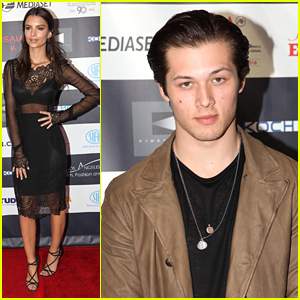 Leo Howard & Emily Ratajkowski Step Out For Los Angeles Italia Film Festival's Closing Night