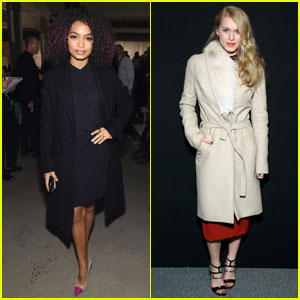 Yara Shahidi & Leven Rambin Are Gorgeous NYFW Girls in New York City!