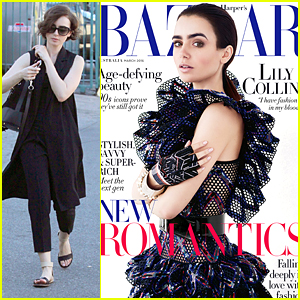 Lily Collins Has Fashion Running In Her Veins