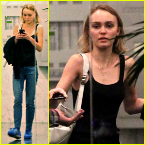 Lily-Rose Depp Opens Up About Having Celebrity Parents