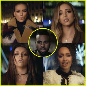 Little Mix Tour London in New 'Secret Love Song' Music Video (feat. Jason Derulo) - Watch Now!