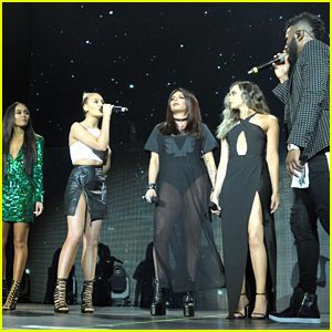 Little Mix Thank Jason Derulo After 'Secret Love Song' Performance in London