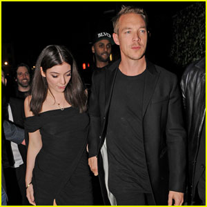 Lorde & Diplo Hold Hands After BRIT Awards 2016!