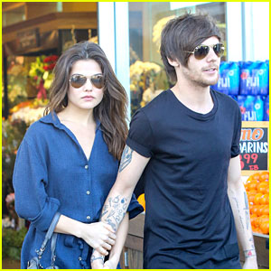 Louis Tomlinson Grabs Lunch With Girlfriend Danielle Campbell