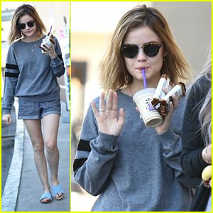 Lucy Hale Wouldn't Go Back To Long Hair At All