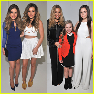 Maddie & Tae Hit NYFW with Lennon & Maisy After Performing on 'Live with Kelly & Michael'