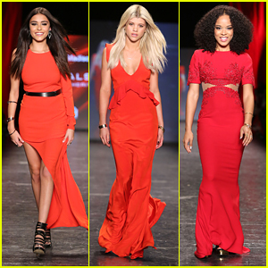 Madison Beer, Sofia Richie & Serayah Walk The Runway For Women's Heart Health at NYFW