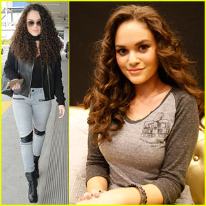 Madison Pettis Shows Off Her NFL Shirt Design With Kalin & Myles!