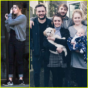 Maisie Williams Shares a Cute Family Photo!