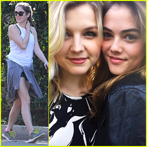 McKaley Miller Reunites With 'Scream Queens' Co-star Anna Grace Barlow