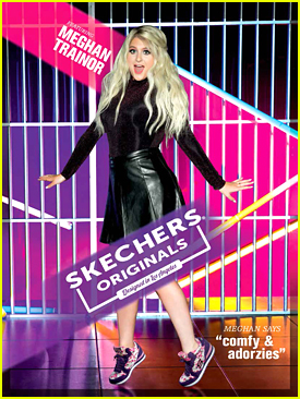 Meghan Trainor Goes Retro For Skechers Original Campaign - See The Ad!