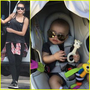 Naya Rivera's Son Josey is Getting Big!