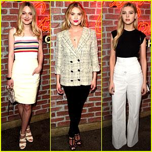 Dakota Fanning & Ashley Benson Attend Chanel Event with Nicola Peltz