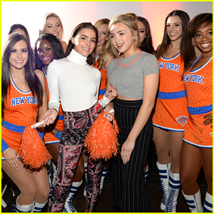 Peyton List Gets A Pep-Start at Clinique Launch Event with Olivia Culpo