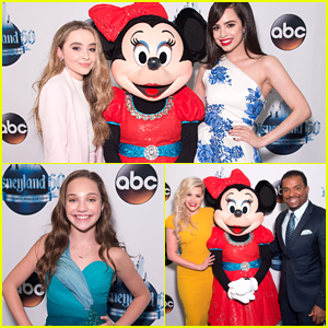 Sabrina Carpenter & Sofia Carson Present During 'The Wonderful World of Disneyland 60 Special' Tonight!
