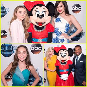 Sabrina Carpenter & Sofia Carson Present During 'The Wonderful World of Disneyland 60 Special' Tonight!