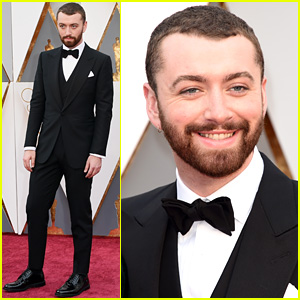 Sam Smith Suits Up for Oscars 2016!