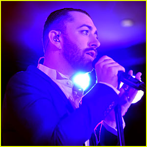 Sam Smith Performs After a Two Month Hiatus at THR's Nominees Night